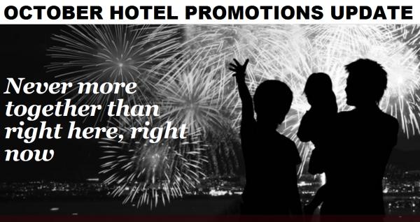 Hotel Promotions Update October 2014 U