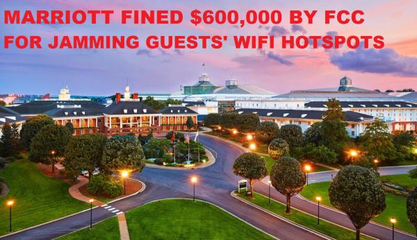Marriott Gaylord Opryland Blocking Wifi