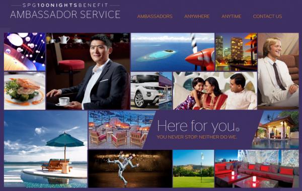 SPG Ambassador Website U