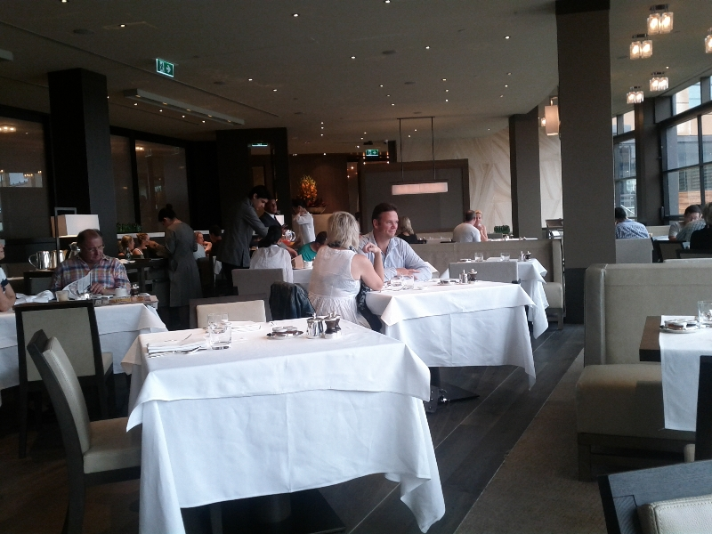 Park hyatt sydney review of my stay loyaltylobby for The dining room sydney