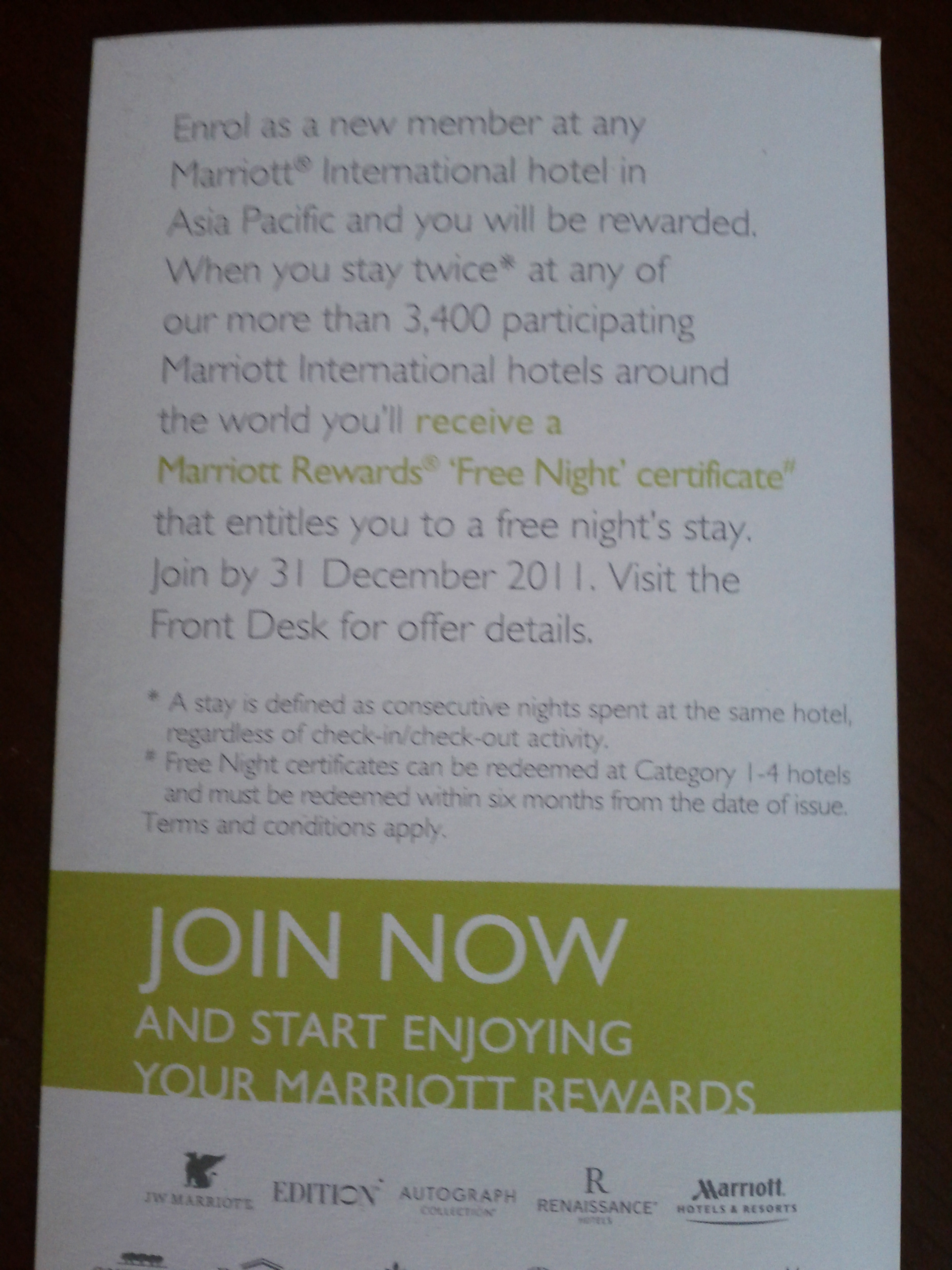 Marriott rewards sign up bonus free night certificate or instant marriott rewards sign up offer stay twice stay free 2 1betcityfo Choice Image