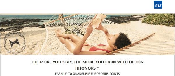 hilton-hhonors-sas-4x-eurobonus-points