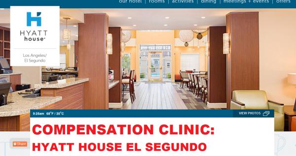Compensation Clinic Hyatt House El Segundo