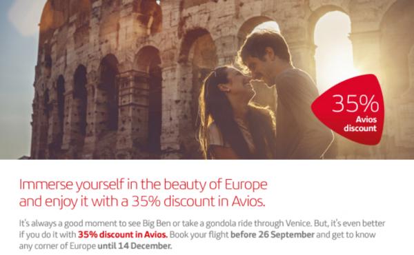Iberia Plus Avios Discount