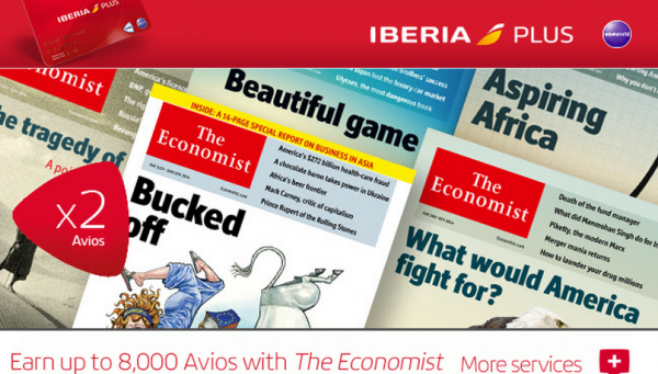 Iberia Plus The Economist Offer Fall 2014