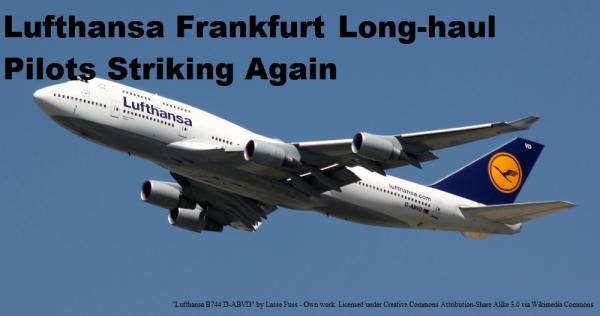Lufthansa Pilot Strike U
