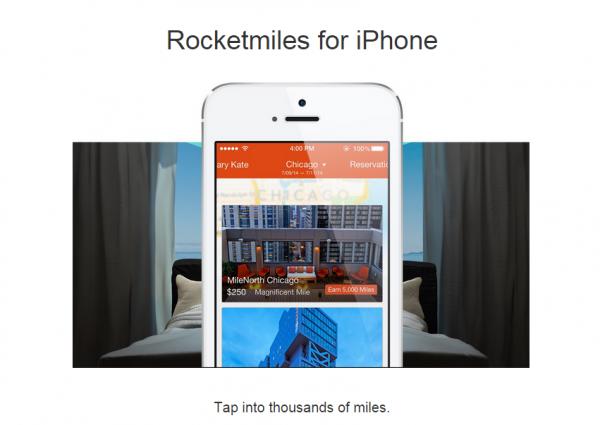 Rocketmiles iPhone Booking Bonus