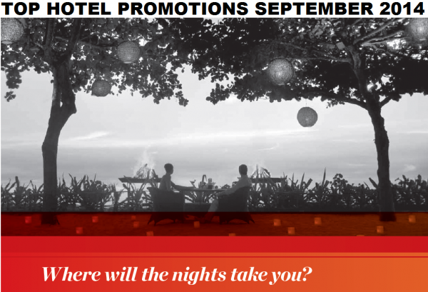 Top Hotel Promotions September 2014