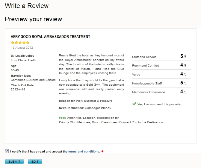 how to write a google review on a website