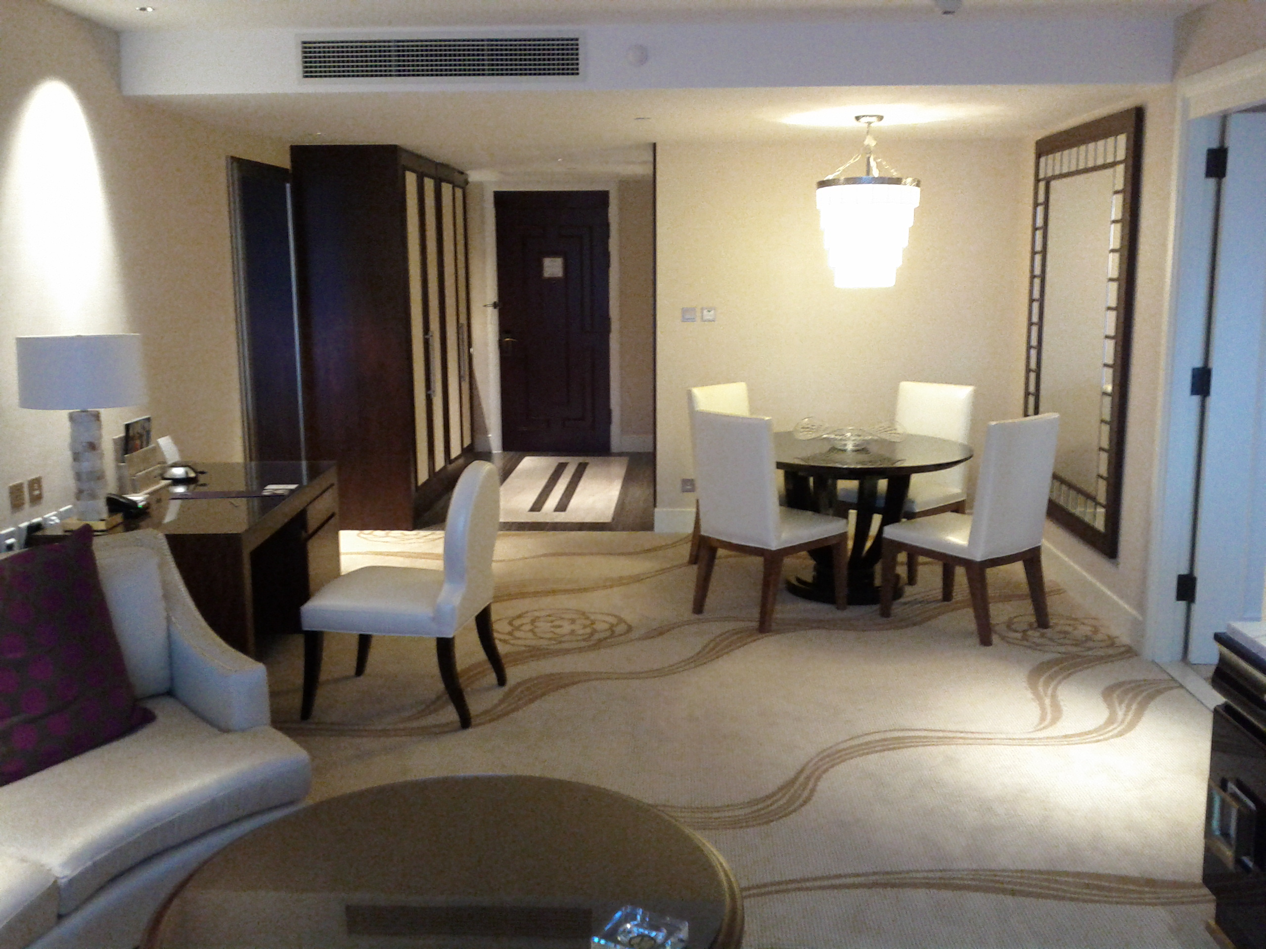 Conrad macao for Living room suit