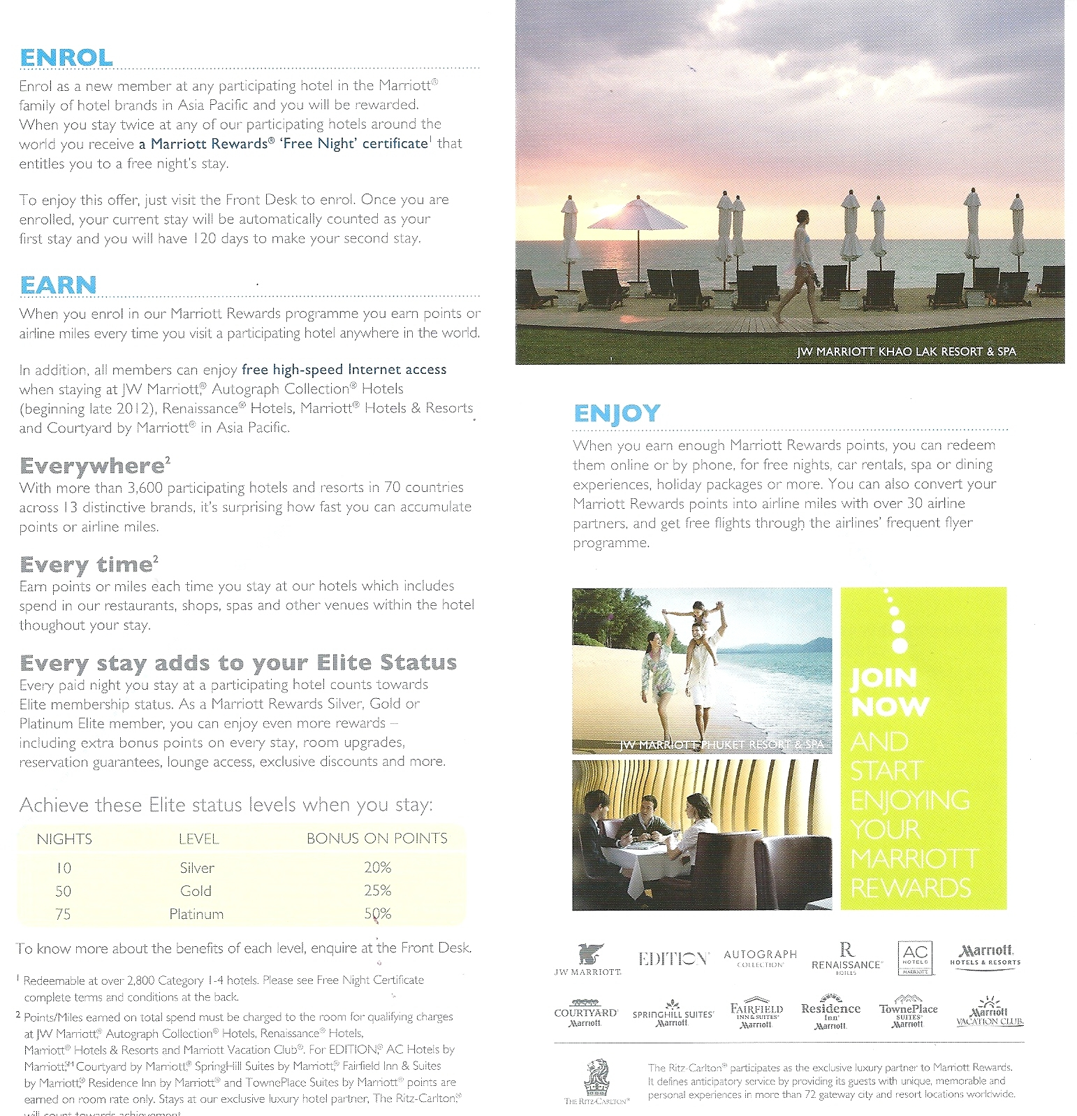 Marriott marriott rewards part 11 marriott rewards asia pacific joining offer text 1betcityfo Choice Image