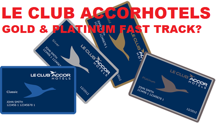 Le Club Accorhotels Gold & Platinum Status