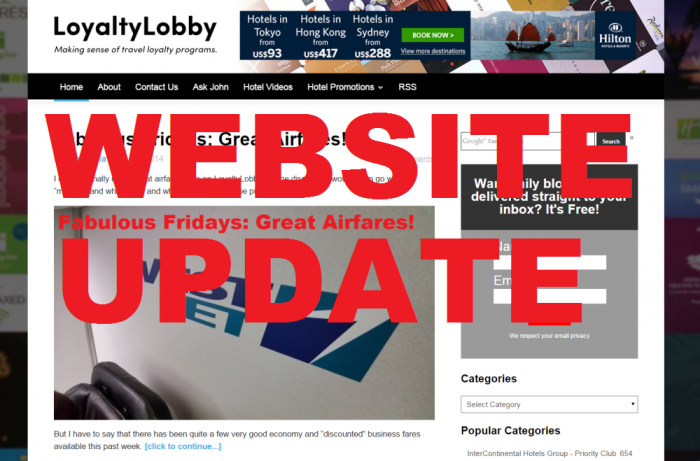 LoyaltyLobby Website Update Front