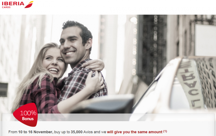 Iberia Plus Purchase Avios Card Bonus