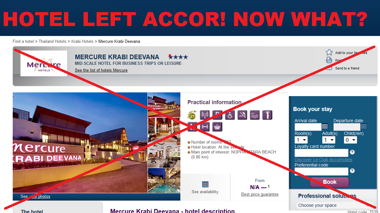 reader question mercure krabi deevana no longer accor