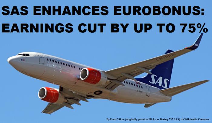 SAS Eurobonus Changes January 1 2015