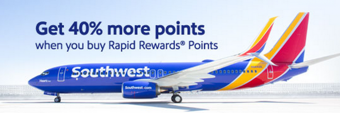Southwest Airlines Buy Rapid Reward Points November 2014 Promo