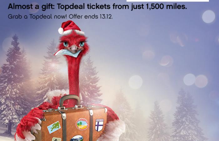 Airberlin Topbonus Topdeal Tickets December 2014