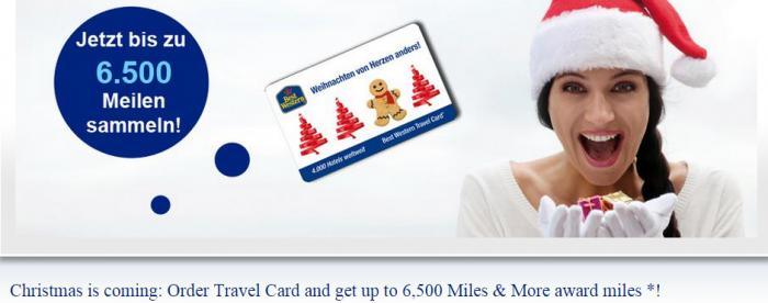 Best Western Travel Card Lufthansa Miles&More Up To 6500 Bonus Miles