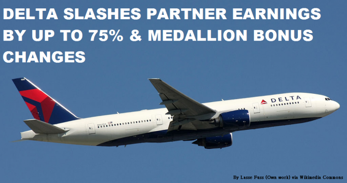 Delta Slashes Partners Earnings By Up To 75 Percent & Medallion Bonus Changes