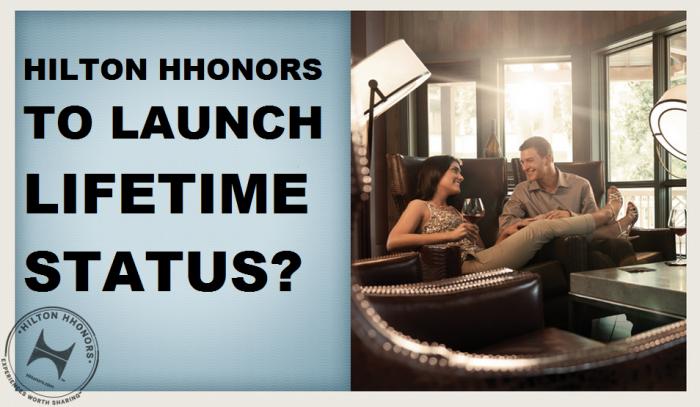 Hilton HHonors Lifetime Status Coming U