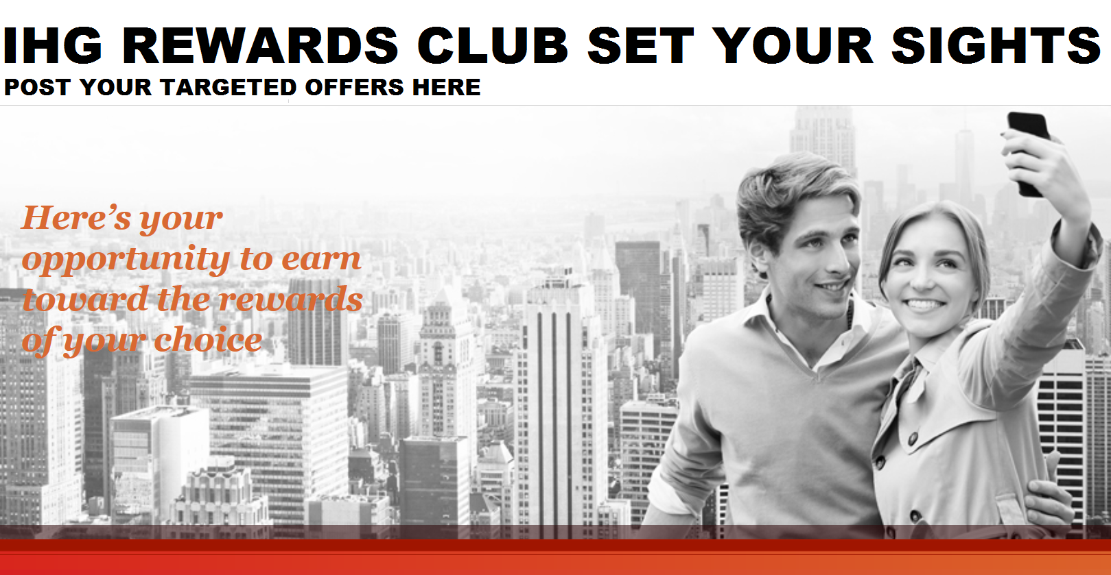 Ihg rewards club set your sights promotion base offer for new