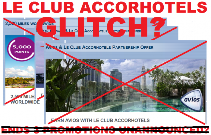 Le Club Accorhotels British Airways Avios Delta Promotions Fall 2014 Cancelled Update