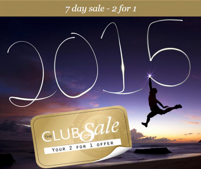 SLH 2-4-1 Sale December 2014
