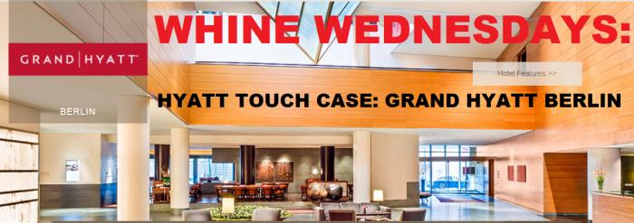 Whine Wednesdays Hyatt Touch Grand Hyatt Berlin
