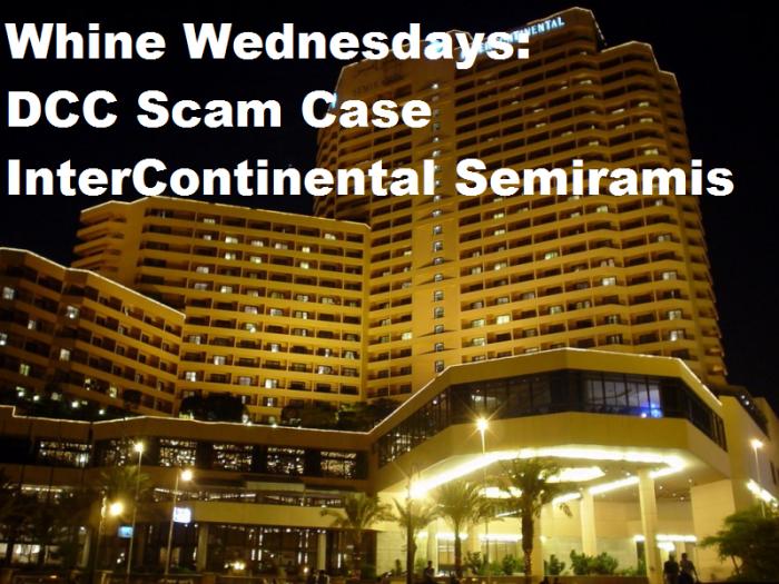 Whine Wednesdays InterContinental Semiramis