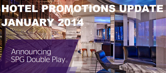 Hotel Promotions Update January 2015