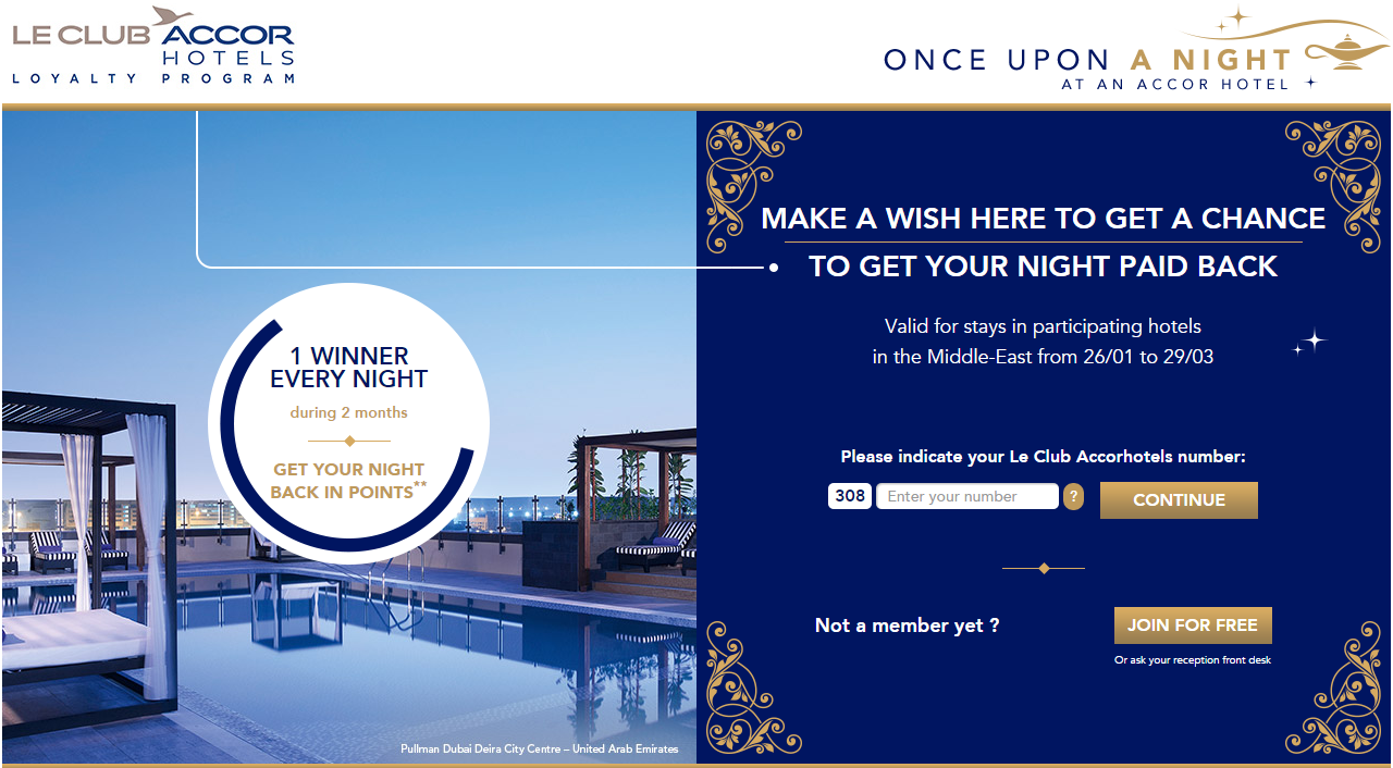 Le Club Accorhotels bonus points promotion for a stay within 3 months of registering for this offer. Le Club Accorhotels Promotion: Bonus Points For A Stay (Within 3 Months – Valid For Stays Until December 31, ) Le Club Accorhotels members can earn quadruple points for a stay at select new hotels between February 1 – March 31,