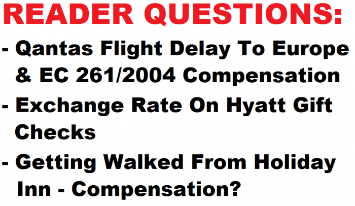 Reader Question January 17 2015