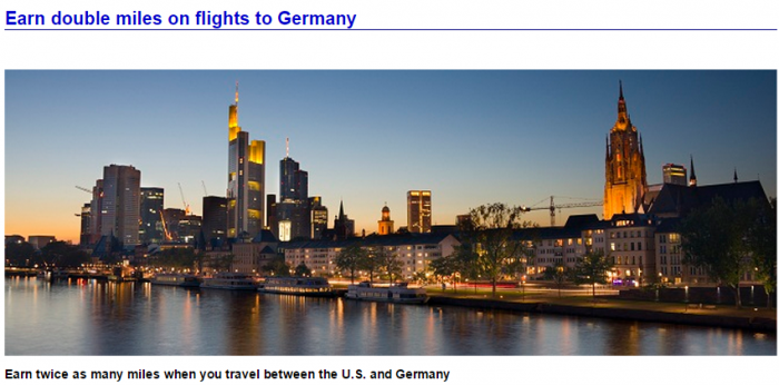 American Airlines Airberlin Germany Double Miles February 11 April 15 2015