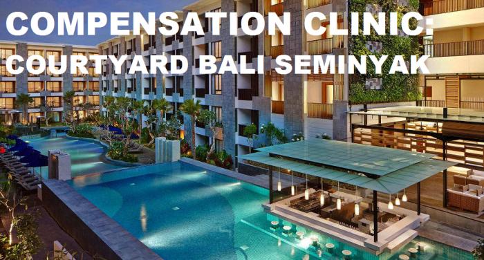 Compensation Clinic Courtyard Bali Seminyak