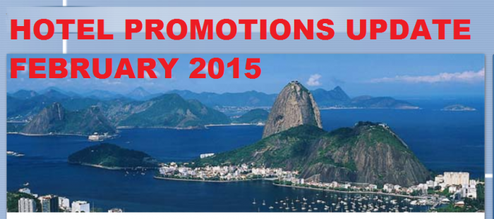 Hotels Promotion Update February 2015