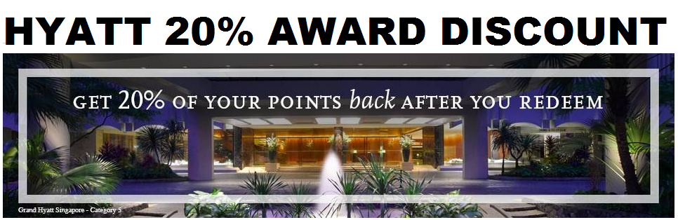 hyatt gold passport 20 award discount for credit card holders only february 17 july 31 2015. Black Bedroom Furniture Sets. Home Design Ideas