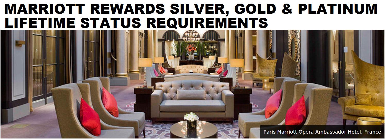 marriott rewards lifetime silver gold platinum status requirements 2015 update loyaltylobby - Silver Hotel 2015
