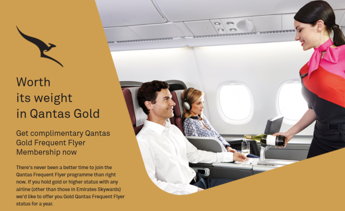 Qantas Gold New Zealand Residents