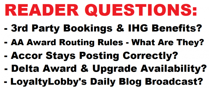 Reader Questions February 14