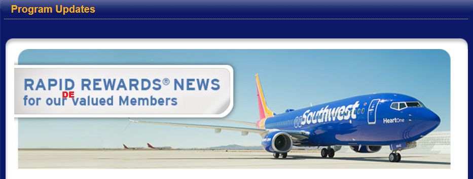 rapid rewards at southwest airlines Flying southwest learn about our boarding start earning points sign up for a rapid rewards® account and earn points on your next ©2018 southwest airlines co.