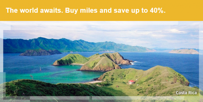 United Airlines Buy Miles Campaign February 2015 Main