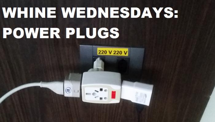 Whine Wednesdays Power Plugs