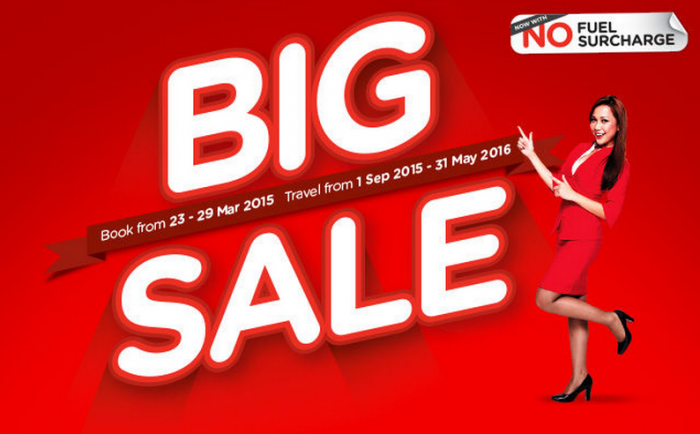 AirAsia Big Sale March 2015