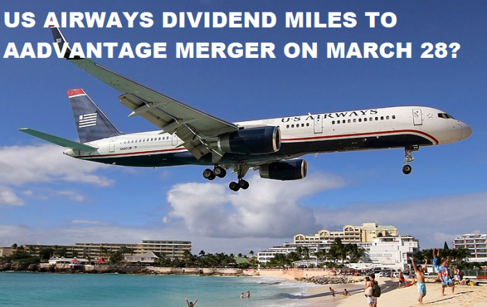 American Airlines & US Airways Frequent Flier Program Merger On March 28, 2015