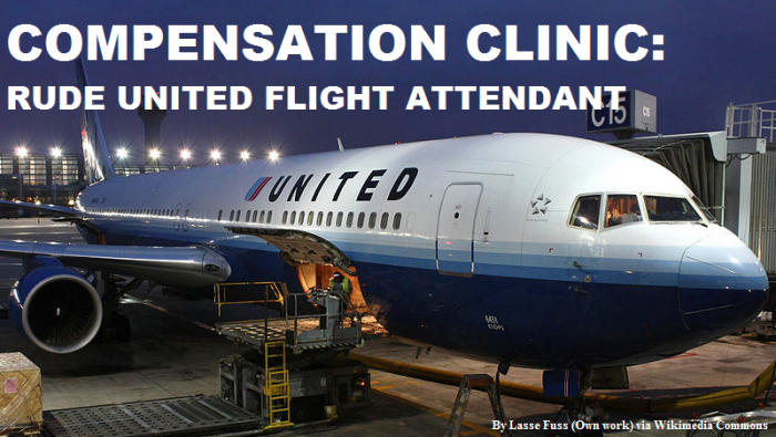 Compensation Clinic Rude Flight Attendant On United Airlines