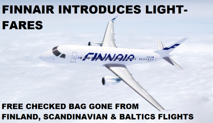 Finnair Pay For Bag