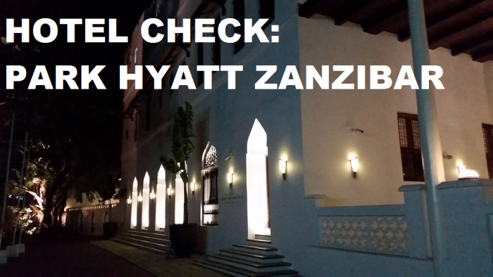 Hotel Check Park Hyatt Zanzibar