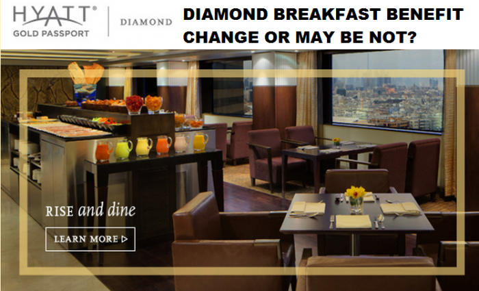 Hyatt Gold Passport Diamond Breakfast Email