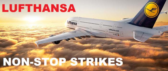 Lufthansa Non-stop Strikes